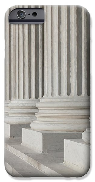 Us Supreme Court Building I IPhone Case by Clarence Holmes