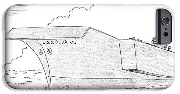 U.s.s. Deja Vu IPhone 6s Case by Mick Stevens
