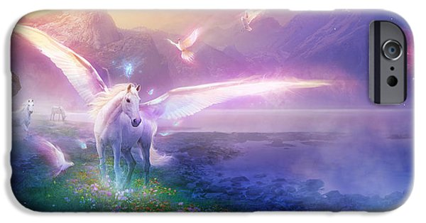 Utherworlds Winter Dawn IPhone 6s Case by Philip Straub