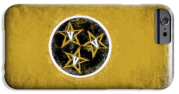 IPhone 6s Case featuring the digital art Vandy Tennessee State Flag by JC Findley