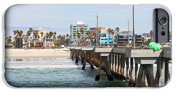 Venice Beach From The Pier IPhone 6s Case by Ana V Ramirez