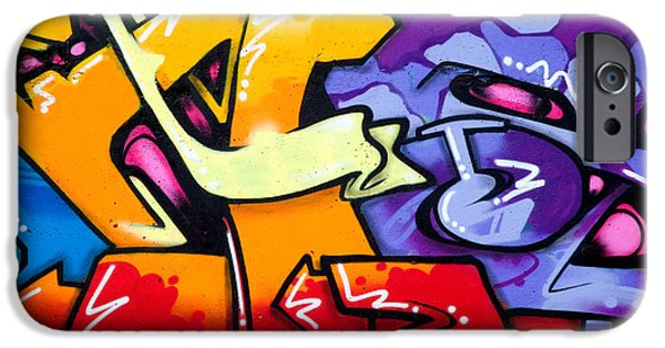 Vibrant Graffiti IPhone Case by Richard Thomas