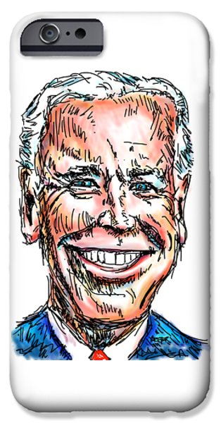 Vice President Joe Biden IPhone 6s Case by Robert Yaeger