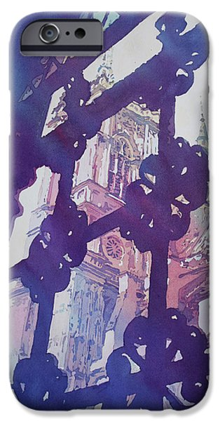 View From The Cloister IPhone 6s Case by Jenny Armitage