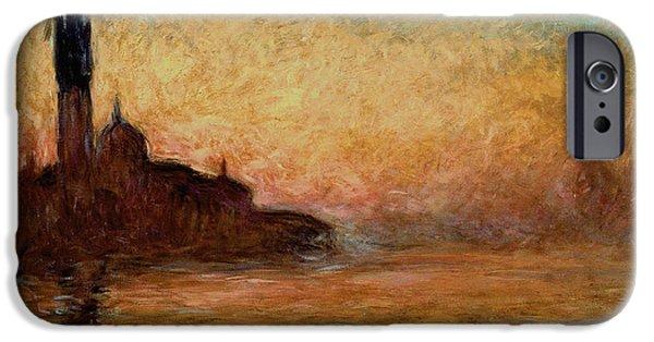 Impressionism iPhone 6s Case - View Of San Giorgio Maggiore by Claude Monet
