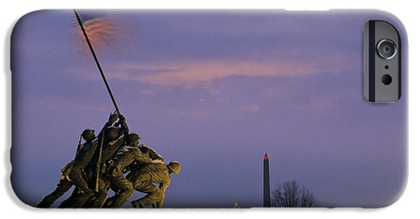 Capitol Building iPhone 6s Case - View Of The Iwo Jima Monument by Kenneth Garrett