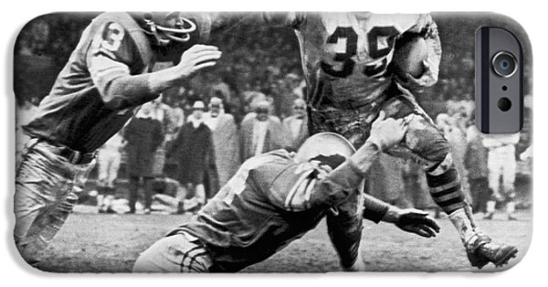 Football iPhone 6s Case - Viking Mcelhanny Gets Tackled by Underwood Archives