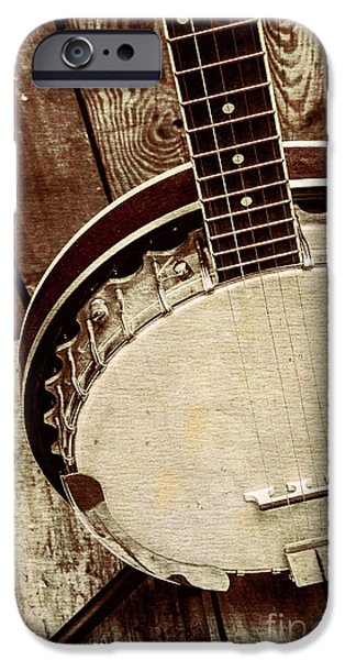 Vintage Banjo Barn Dance IPhone 6s Case