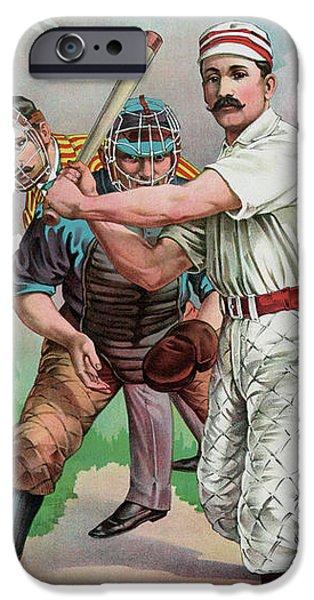 Vintage Baseball Card IPhone 6s Case