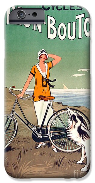 Vintage Bicycle Advertising IPhone 6s Case by Mindy Sommers