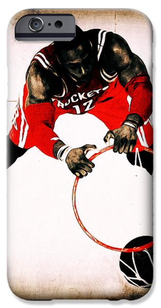 Vintage Dwight Howard IPhone Case by Brian Reaves