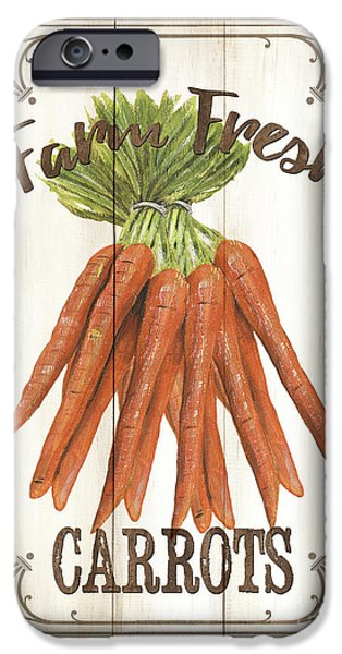 Vintage Fresh Vegetables 3 IPhone 6s Case by Debbie DeWitt