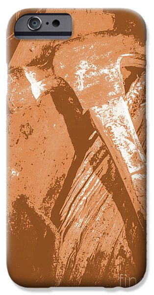 Vintage Miners Hammer Artwork IPhone 6s Case