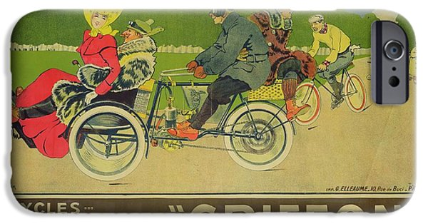 Vintage Poster Bicycle Advertisement IPhone 6s Case by Walter Thor