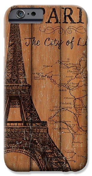 Vintage Travel Paris IPhone 6s Case