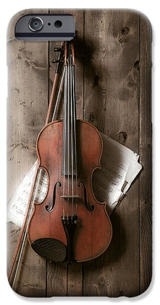 Music iPhone 6s Case - Violin by Garry Gay