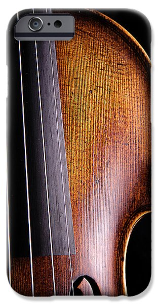 Violin Isolated On Black IPhone 6s Case by M K  Miller
