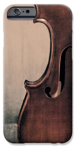 Violin iPhone 6s Case - Violin Portrait  by Emily Kay