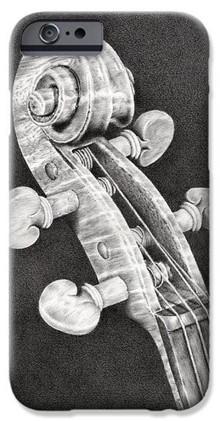 Violin Scroll IPhone 6s Case by Remrov