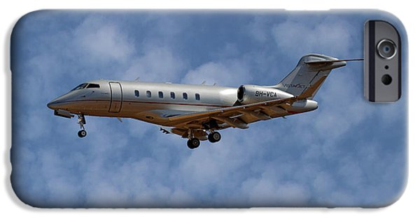 Jet iPhone 6s Case - Vista Jet Bombardier Challenger 300 1 by Smart Aviation