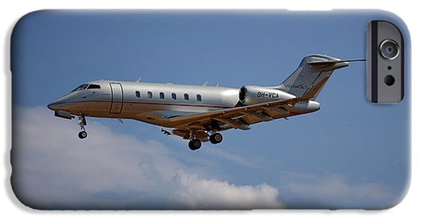 Jet iPhone 6s Case - Vista Jet Bombardier Challenger 300 4 by Smart Aviation