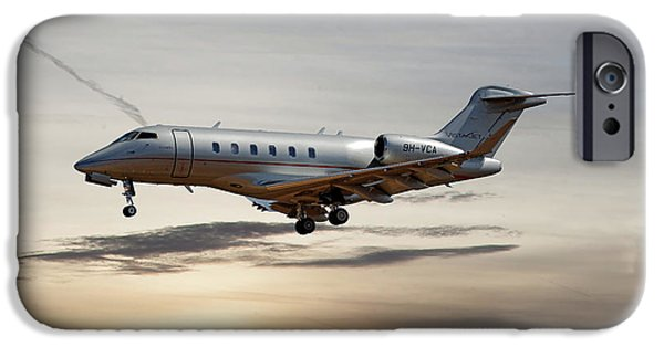 Jet iPhone 6s Case - Vista Jet Bombardier Challenger 300 by Smart Aviation