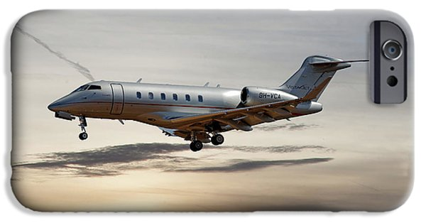 Jet iPhone 6s Case - Vista Jet Bombardier Challenger 300 by Smart Aviation