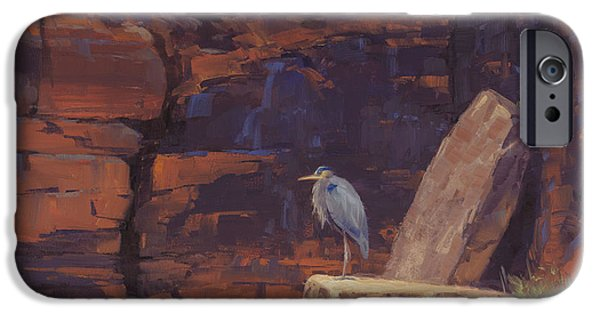 Heron iPhone 6s Case - Waiting by Cody DeLong