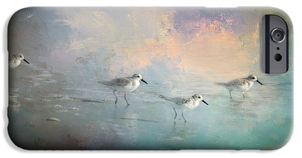 Sandpiper iPhone 6s Case - Walking Into The Sunset by Marvin Spates
