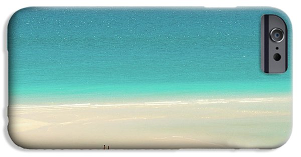 Teal iPhone 6s Case - Wanderlust by Az Jackson