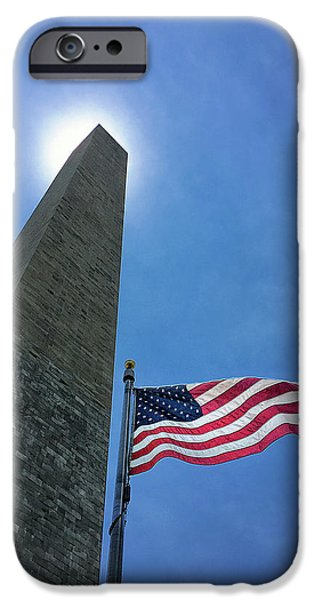 Washington Monument IPhone 6s Case by Andrew Soundarajan