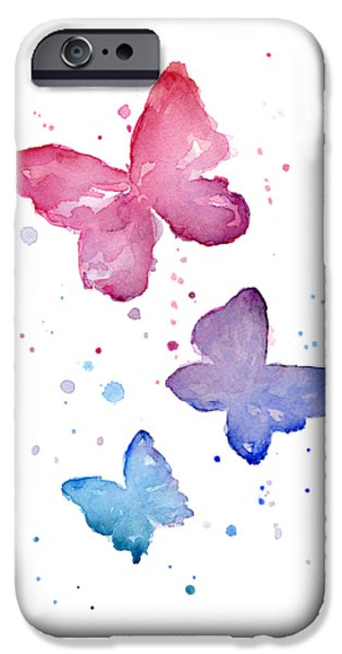 Watercolor Butterflies IPhone 6s Case