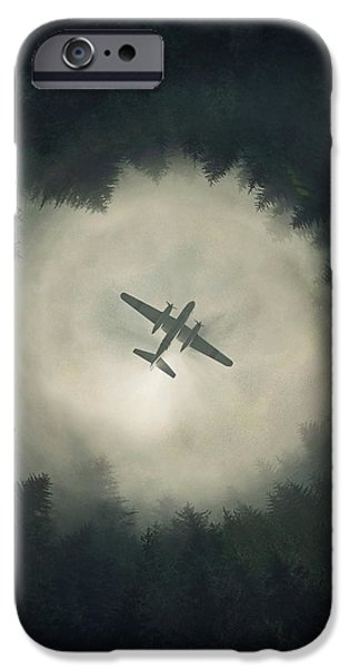 Airplane iPhone 6s Case - Way Out by Zoltan Toth