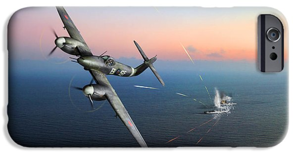 IPhone 6s Case featuring the photograph Westland Whirlwind Attacking E-boats by Gary Eason