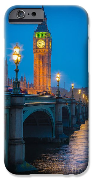 Westminster Bridge At Night IPhone 6s Case by Inge Johnsson