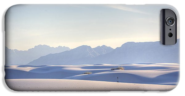 Desert iPhone 6s Case - White Sands Blue Sky by Peter Tellone