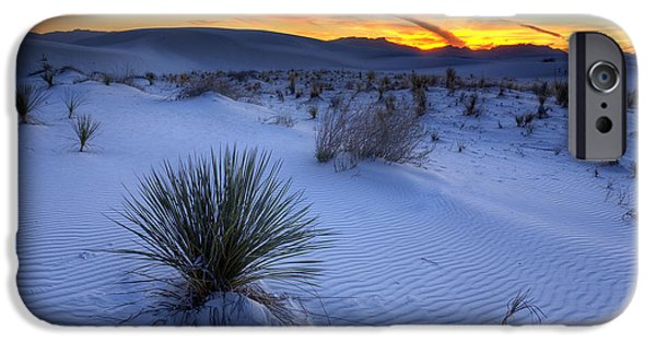 Desert iPhone 6s Case - White Sands Sunset by Peter Tellone