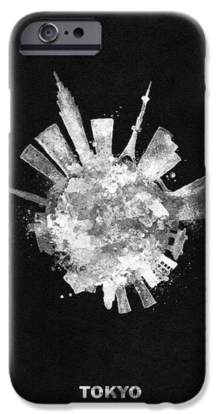 White Skyround / Skyline Art Of Tokyo, Japan IPhone 6s Case