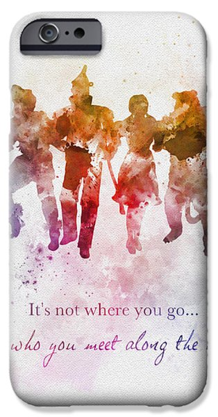 Wizard iPhone 6s Case - Who You Meet Along The Way by Rebecca Jenkins