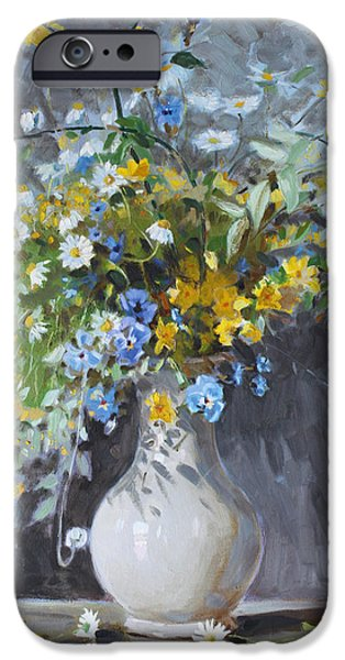 Wild Flowers IPhone 6s Case by Ylli Haruni