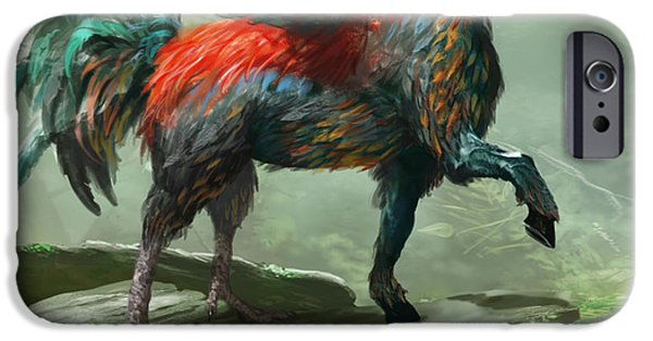 Wild Hippalektryon IPhone 6s Case by Ryan Barger