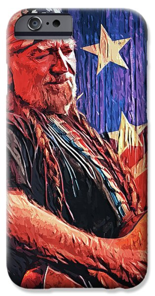 Willie Nelson IPhone 6s Case