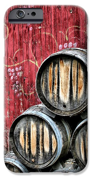 Wine Barrels IPhone 6s Case by Doug Hockman Photography