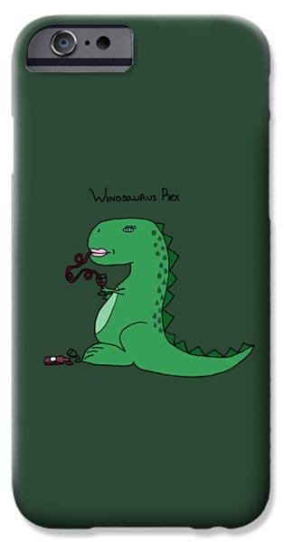 Winosaurus Rex IPhone 6s Case by Tamera Dion