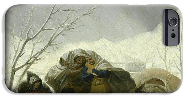 Winter Scene IPhone 6s Case by Goya