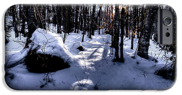 IPhone 6s Case featuring the photograph Winters Shadows by David Patterson