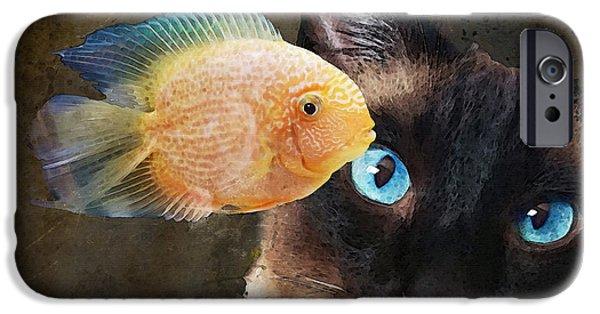 Wishful Thinking 2 - Siamese Cat Art - Sharon Cummings IPhone 6s Case
