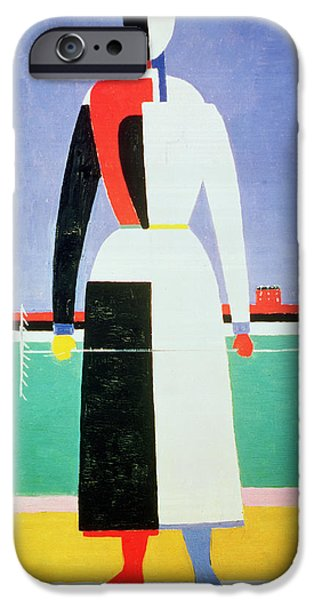 Woman With A Rake IPhone 6s Case by Kazimir Severinovich Malevich