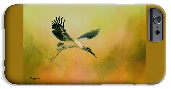 Stork iPhone 6s Case - Wood Stork Encounter by Marvin Spates