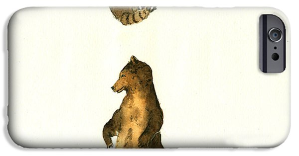 Woodland Letter I IPhone 6s Case